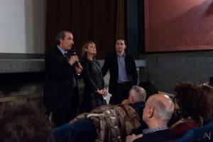 Da sinistra, Citrigno, Salamina, Mollo (foto Antonella Nicolò)
