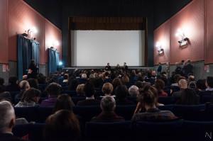 Il pubblico presente al cinema Aurora (foto Antonella Nicolò)