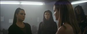 Lucia Grillo (a sinistra) in una scena di Switch